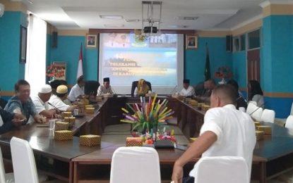 Wakil Bupati Natuna Pimpin Rapat Dengan FKUB