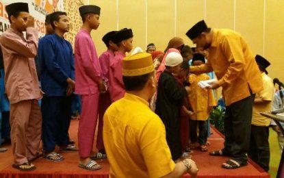 DPD Hanura Kepri Berbagi dengan Ratusan Anak Yatim