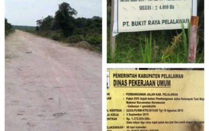 LBH BJR akan Laporkan Pembangunan Jalan di Kerumutan ke Tipikor Polda Riau