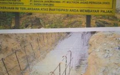 Proyek Pengaspalan Jalan TPA II Rumbai Diduga Menyimpang