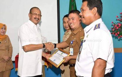 Bupati Natuna Serahkan Penghargaan DAK Fisik Tahun 2018.