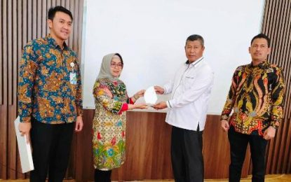 Bupati KKA Hadiri FGD Implementasi Program BPJS Ketenagakerjaan