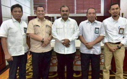 Kunker ke PT. PLN Riau-Kepri, Bupati Karimun Dorong Peningkatan Jaringan Listrik di Karimun
