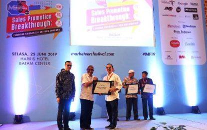 RSBP Batam Terima Penghargaan Indonesia Marketeers Festival 2019