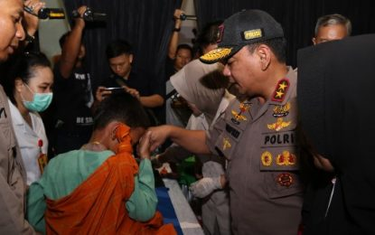 Gelaran Hari Bhayangkara, Polda Kepri Gelar Bakti Kesehatan