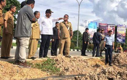 Pelebaran Jalan Simpang Kabil-Masjid Agung Dikebut Lagi