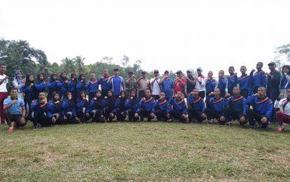 PPI Lingga Kunjungi Lokasi Kegiatan Pengibaran di Desa Pekaka