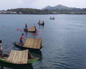 Festival Sampan Kajang Meriahkan HUT RI di Temiang Pesisir