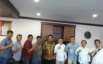 Plt Gubernur Kepri Terima Kunjungan Pengurus PWI Kepri