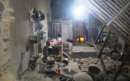 139 Rumah Warga Banten Rusak akibat Gempa