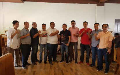 Pertemuan Ketua PWI Kepri dengan Ketua DPC Hanura Batam, Munculkan Poros Ketiga