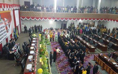45 Anggota DPRD Kepri Dilantik, 51 Persen Wajah Baru