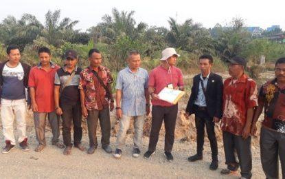 Penyidik Polda Riau Cek Lahan 300 Ha bersama Koptan Bhakti Bersama dan Warga