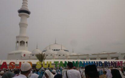 Disbudpar Berencana jadikan Masjid Sultan Mahmud Riayat Syah Objek Vital Pariwisata