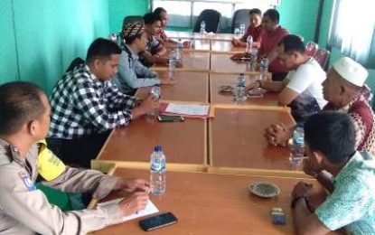 Ambil Keterangan Warga, Penyidik Polda Riau Datangi Desa Rantau Baru