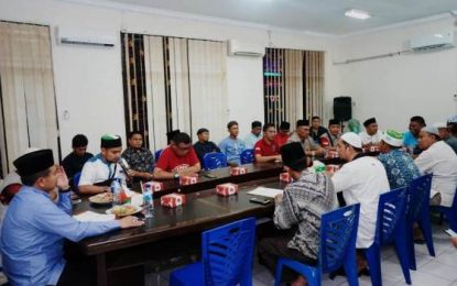 Camat Riki Pimpin Rapat Persiapan Tabligh Akbar bersama UAS