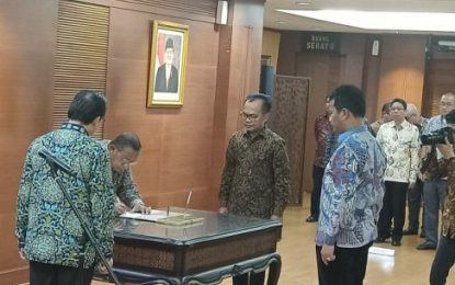 Dilantik Menko Perekonomian, Rudi Resmi Jabat Ex Officio Kepala BP Batam