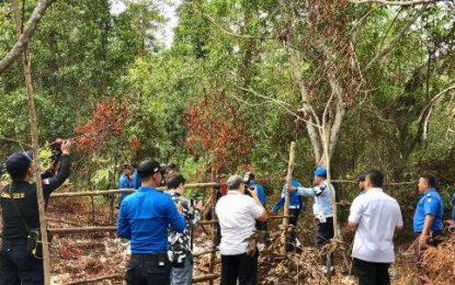 Tim Patroli Gabungan Tertibkan Kegiatan Ilegal di KKOP Hang Nadim