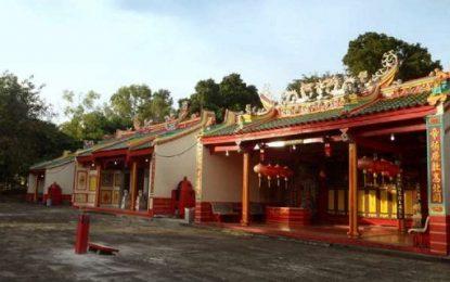 Balai Pelestarian Cagar Budaya Minta Disbudpar Tanjungpinang Hentikan Renovasi Kelenteng Tien Hou Kong