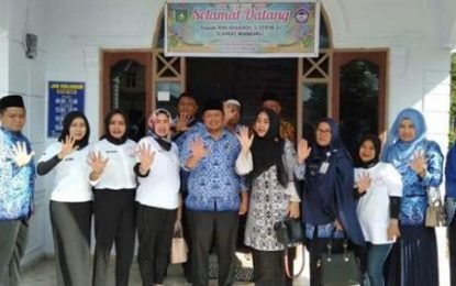 Camat Mandau Kunjungi Rumah Singgah TRC-PA Kabupaten Bengkalis