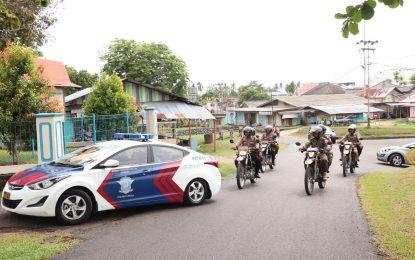 Aparat Gabungan Gelar Apel Siaga, Jamin Lingga Aman selama Proses Pelantikan Presiden