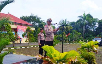 Kapolres Natuna Pimpin Apel Pasukan Ops Zebra Seligi 2019