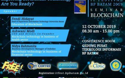 IT Fest BP Batam 2019 Hadir Lagi untuk Mendorong Bisnis Era Digital