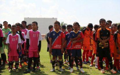 Meriahkan HUT ke-48, BP Batam Gelar Pertandingan Sepakbola U-12 se Kepri