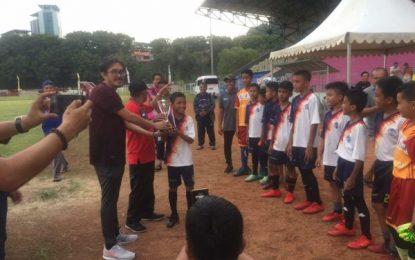 Final Turnamen Sepak bola Pelajar U-12 Piala Bergilir Kepala BP Batam CUP II Se-Kepri Tahun 2019