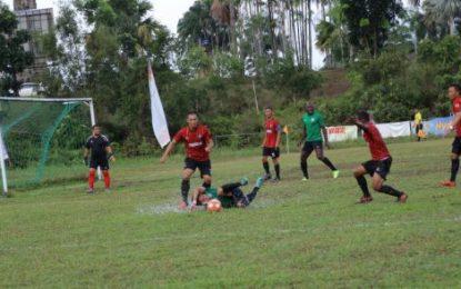 Batamindo Berhasil Juarai Turnamen Sepak Bola BP Batam U-40