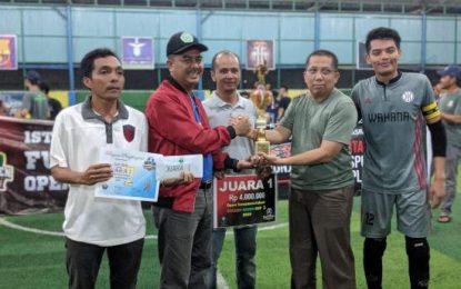 H. Adri Hadiri Penutupan Kejuaraan Green Cup 1 di Pematang Pudu