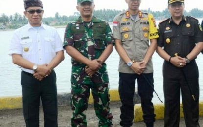 Bupati Lingga Apresiasi Kinerja TNI/Polri dalam Pengamanan Pelantikan Presiden