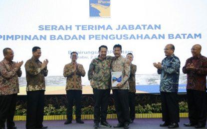 Serah Terima Jabatan Kepala BP Batam, Edy Ingatkan Jaga Sinergitas