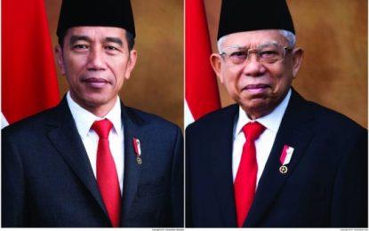 Setneg Resmi Rilis Foto Presiden dan Wakil Presiden Terpilih