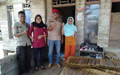 Hi-melaya Kecamatan Lingga Berikan Bantuan 2400 Lembar Atap untuk 12 Unit Rumah Warga