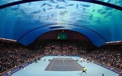 Siap-siap, Dubai akan Miliki Lapangan Tenis Bawah Laut