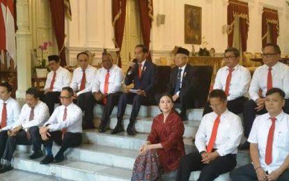 Presiden Jokowi Lantik 12 Wakil Menteri