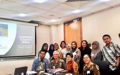 Pengembangan SDM, Pegawai BP Batam Ikuti Pelatihan Copywriting and Speech Writing