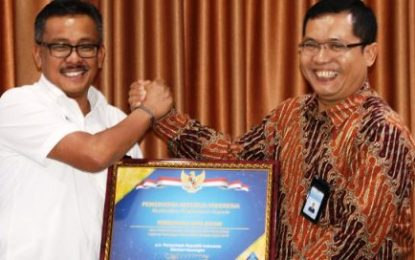 Pemko Batam kembali Raih Predikat WTP dari Menteri Keuangan