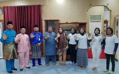 Sambut Baik Keberadaan Rumah Singgah Sayang, Camat Mandau Riki Rahardi Laksanakan MoU