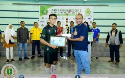 Turnamen MAN 1 Bengkalis Cup Resmi Ditutup Waka DPRD Bengkalis
