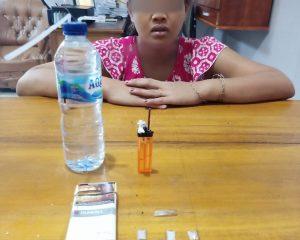 Polsek Mandau Berhasil Amankan Seorang Perempuan Pemilik Narkotika