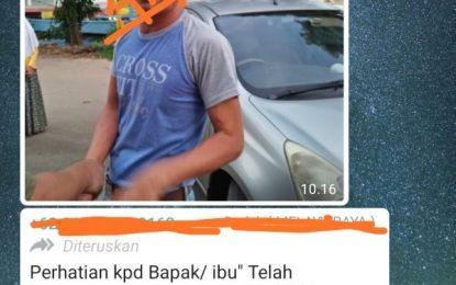 """Beredar Pesan Singkat """"Penculik Anak"""" Ditangkap di Fanindo"""