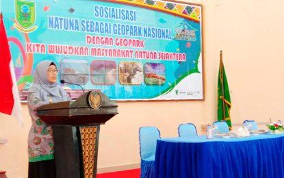 Ngesti Buka Sosialisasi Natuna Sebagai Geopark Nasional