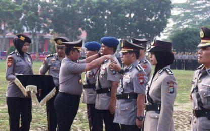 Kapolda Kepri Pimpin Serah Terima Jabatan Pejabat Utama Polda Kepri