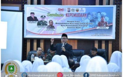 Adakan Seminar GMI di Rumah Dinas, Khairul Umam ajak Siswa Tumbuhkan Rasa Nasionalisme