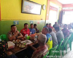 Kasat Lantas Polres Bengkalis Coffee Morning bersama Rekan-rekan Media