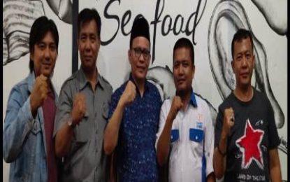 Ketua DPRD Kabupaten Bengkalis Ngopi Bareng Awak Media Duri