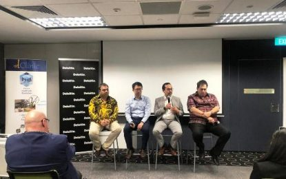 Seminar Batam Medical Blockchain Menarik Perhatian Tamu VIP GBA 2019 Singapura