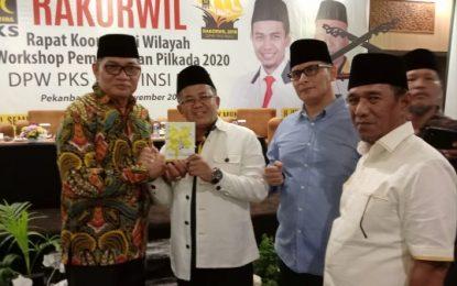 Presiden PKS Sambut Hangat Balon Bupati Bengkalis Ridwan Yazid
